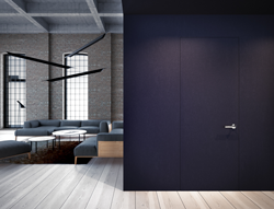 Drzwi ukryte w ścianie lakierowane